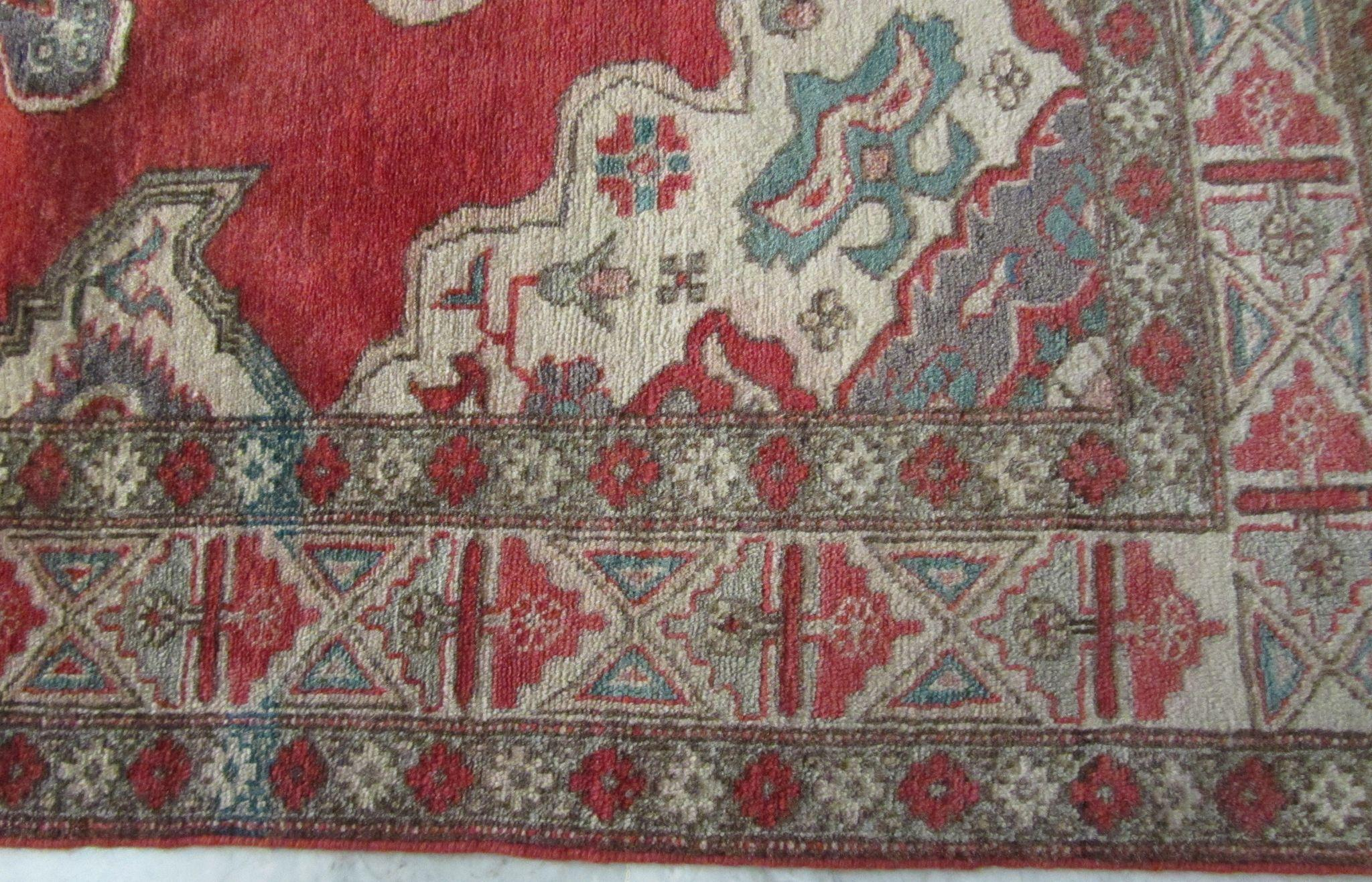 Antique Handmade Authentic Caucasian Rug 150 Years