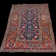 Antique Handmade Authentic Persian Bidjar Halwai Rug - 100+ years - 190 x 124 cm - 6.2 x 4 ft - $3,750 sale price - $4,500 original price