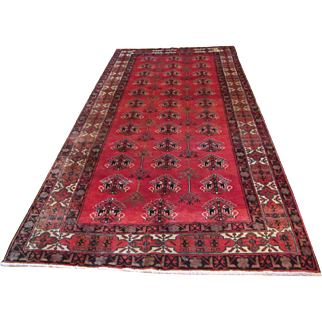 Handmade Authentic Persian Bakhtiari Lori Rug - 20 years - 310 x 160 cm - 10.1 x 5.2 ft