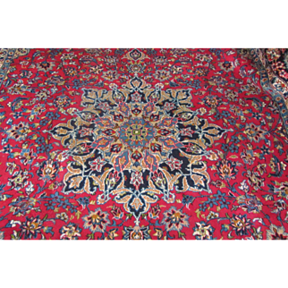 Handmade Authentic Persian Najaf Isfahan Rug - 30 years - 400 x 300 cm - 13.1 x 9.8 ft