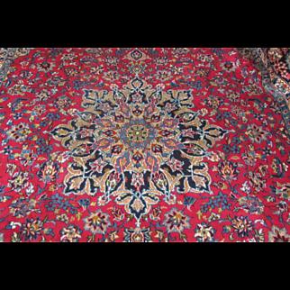 Handmade Authentic Persian Najaf Isfahan Rug - 30 years - 400 x 300 cm - 13.1 x 9.8 ft