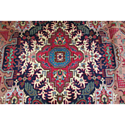SIGNED Handmade Authentic Persian Tabriz Heriz Rug - Signed - 60 years - 400 x 300 cm - 13.1 x 9.8 ft