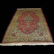 Handmade Authentic Persian Qum Rug - 70 years - 246 x 150 cm - 8 x 4.9 ft