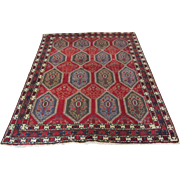 Handmade Authentic Persian Afshar Rug - 70 years - 200 x 150 cm - 6.6 x 5 ft