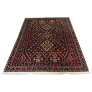 Handmade Authentic Persian Afshar Rug - 30+ years - 205 x 155 cm - 6.7 x 5 ft