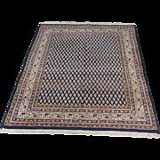 Handmade Authentic Persian Qum Arak Rug - 50 years - 200 x 125 cm - 6.5 x 4.1 ft