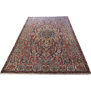 $1,700 Handmade Authentic Persian Bakhtiari Rug - 50 years - 250 x 160 cm - 8.2 x 5.2 ft
