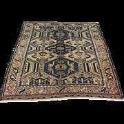Antique Handmade Authentic Caucasian Luri Rug - 100 years - 180 x 125 cm - 5.9 x 4.1 ft