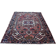 Handmade Authentic Caucasian Rug - Circa 50 years - 200 x 135 cm - 6.5 x 4.4 ft