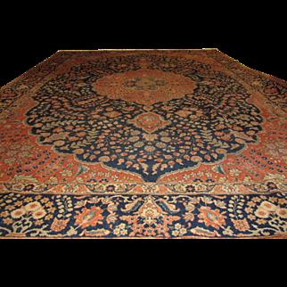 Antique Handmade Authentic Persian Tabriz Rug - 150+ years - 365 x 262 cm - 11.9 x 8.5 ft - $18,000