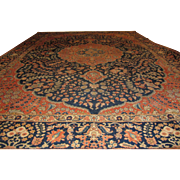 Antique Handmade Authentic Persian Tabriz Rug - 150+ years - 365 x 262 cm - 11.9 x 8.5 ft - $18,000