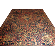 $16,000 Antique Handmade Authentic Persian Tabriz Rug - Circa 120 years - 340 x 217 cm - 11.1 x 7.1 ft