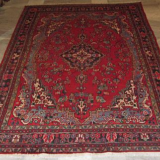 Antique Handmade Authentic Persian Hamadan Rug - 100+ years - 330 x 220 cm - 10.8 x 7.2 ft