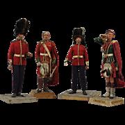 Mary Nicoll 1939 New York City World's Fair Handmade British Military Figures