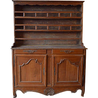 Early 19th Century French Provencal Kitchen Cupboard