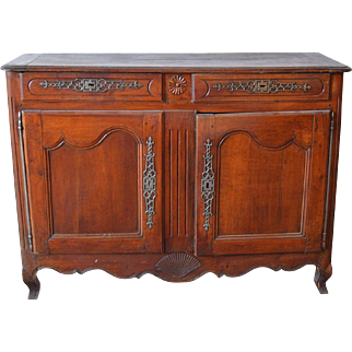 Louis XV Style French Provincial Carved Buffet
