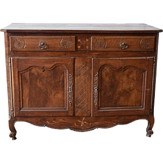 18th Century French Walnut Buffet