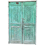 Carved Mediterranean Architectural Doors