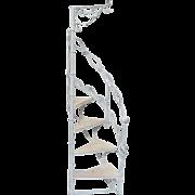 Wrought Iron Garden Staircase Planter Display