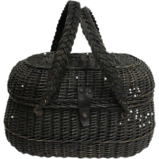 Antique French Marché Basket
