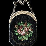 Exquisite Antique German Micro Beaded Purse
