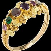 A Beautiful Georgian' Regard' Ring
