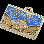 Rare and Charming Miniature Georgian Envelope Locket