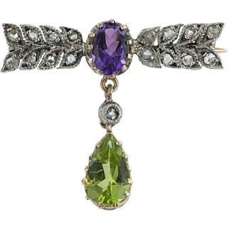 Give Women Votes ! A Suffragette Brooch
