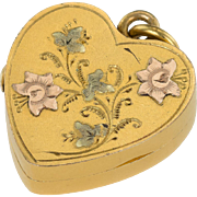 Charming Edwardian Heart Locket