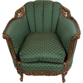 Absolutely Stunning French Louis XV Style Bergere