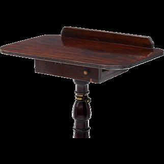 Mahogany Rotating Lectern, Tilting Adjustable Top 19th c ( 1800s )