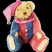 Vintage Harlequin Collector's Teddy Bear Stuffed Animal - Dee Hockenberry