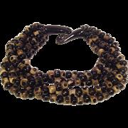 Vintage Art Bake-lite Bead Necklace
