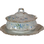 Limoges Covered Sauce Bowl