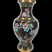 Miniature Cloissone Vase