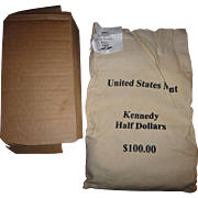 Rare Find! Unopened Mint Bag - 2001 P&D Kennedy Half Dollars!