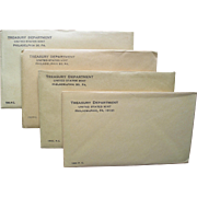 Rare Dates: 1961-64 Mint Sets Unopened U.S. Mint Sealed!