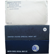 Three (3) Unopened Mint Sets - 1965, 1966, & 1967!