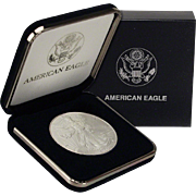 $20,000 Coin? 2000 $1 Silver Eagle! Key Date! Mint Condition (w/Box)