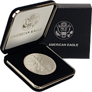 $22,000 Coin? 1992 $1 Silver Eagle! Key Date! Mint Condition (w/Box)