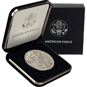 $22,000 Coin? 1989 $1 Silver Eagle! Key Date! Mint Condition (w/Box)