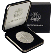 $26,000 Coin? 1988 $1 Silver Eagle! Key Date! Mint Condition with Box!