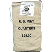 $700,000.00 Potential? Unopened Mint Bag - 2000 P Massachusetts Quarters!