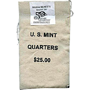 $900,000.00 Potential? Unopened Mint Bag - 2000 D Massachusetts Quarters!