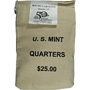 $800,000.00 Potential? Unopened Mint Bag - 2000P South Carolina Qtrs!