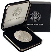 $15,000 Coin? 1997 $1 Silver Eagle! Key Date! Mint Condition in Mint Box!