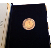 $8,500 Coin? 1988 $5 Gold Eagle! Key Date! Mint Condition w/Box & COA!
