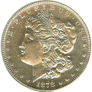 Rare Date 1878 S Morgan Silver Dollar! Graded MS64 DMPL!!