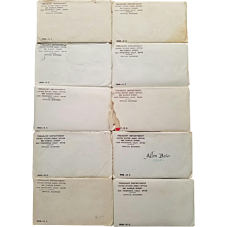 Ten (10) 1968 Mint Sets! Cello Sealed! Envelopes Opened!