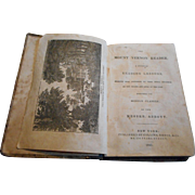 1841 Hard cover book a Mount Vernon Reader
